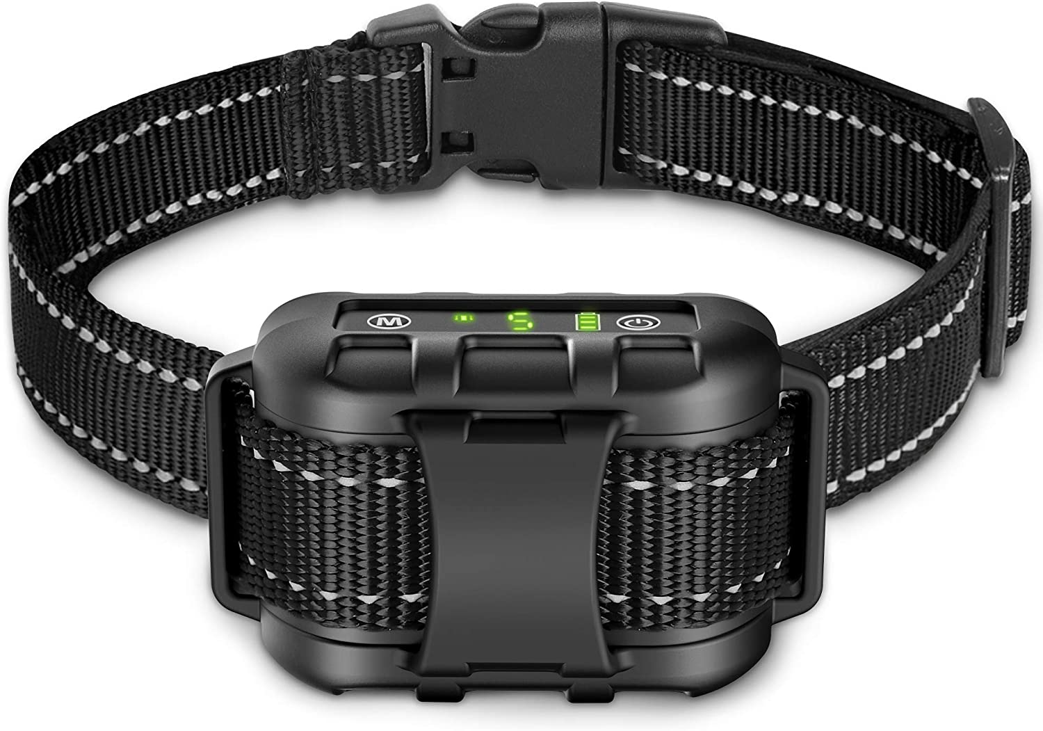 Dog Bark Collar - Rechargeable Shock Collar for Dogs in Small Medium and Large Sizes, No Barking Collar with 5 Adjustable Sensitivity, Beep, Vibration, Shock Modes, Safe Humane Auto Bark Correction : Kitchen & Dining