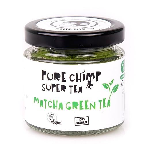 PureChimp Matcha Green Tea Powder (Super Tea) 50g by Ceremonial Grade From Japan