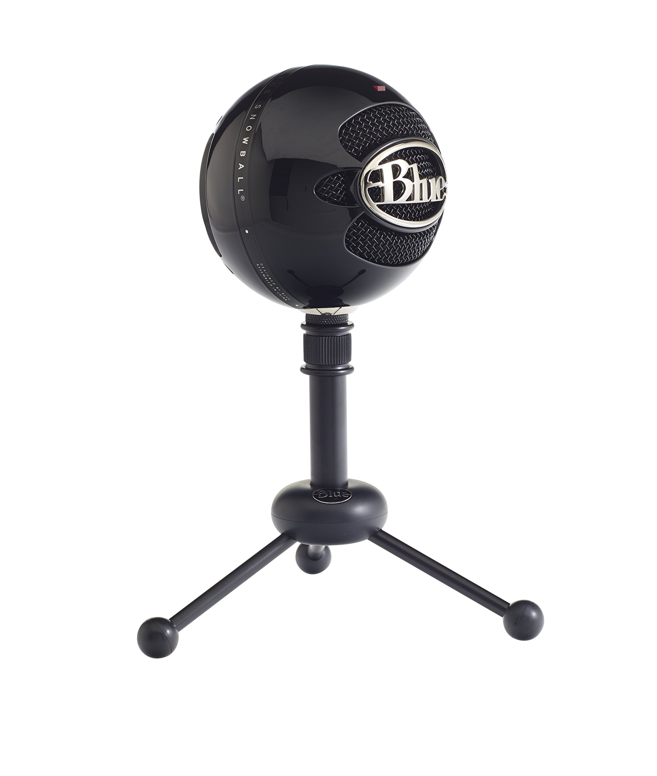 Usb Microphone Blue Snowball : blue snowball usb microphone gloss black techadict ~ Russianpoet.info Haus und Dekorationen