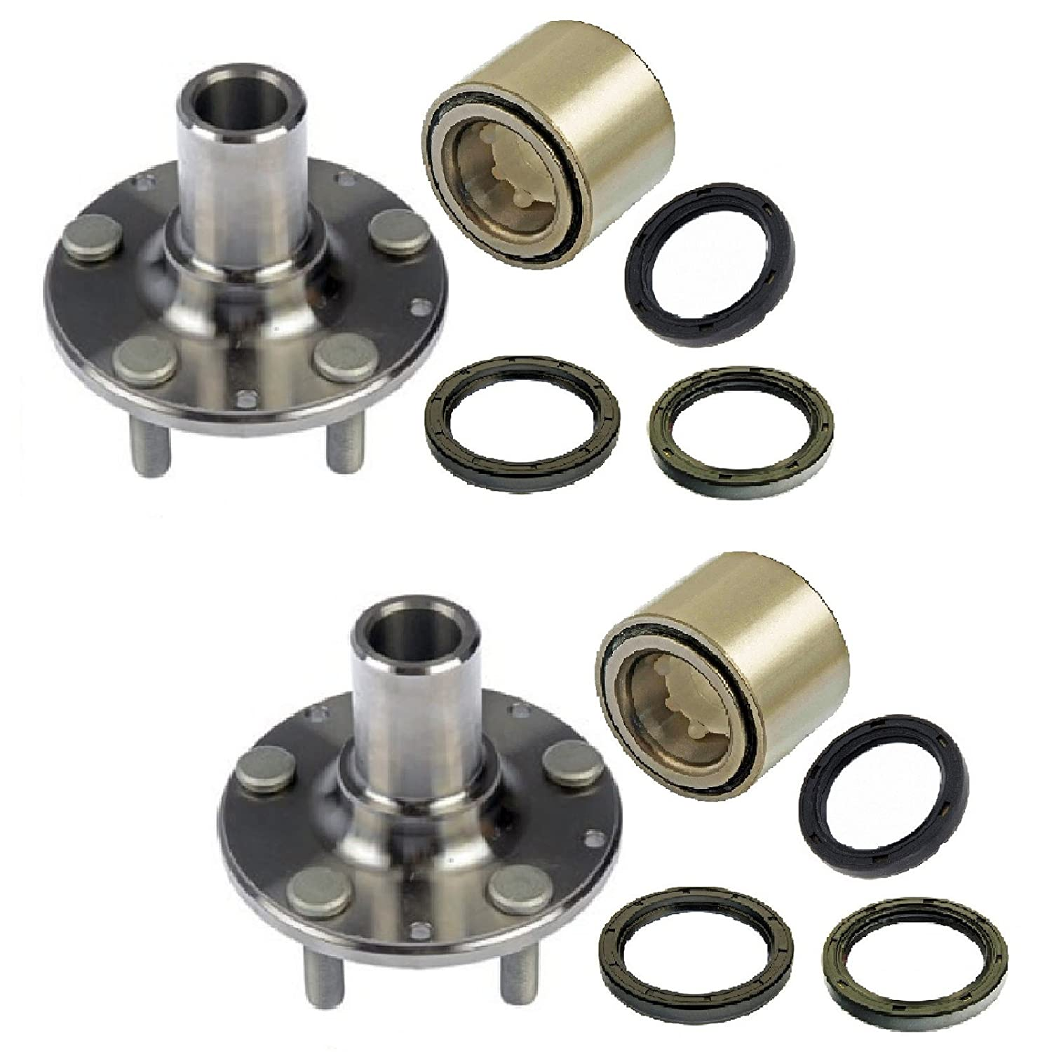 Amazon com: PAIR Rear Left And Right Wheel Hub And Bearing