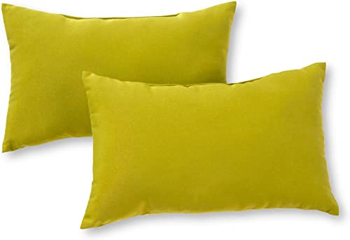 Greendale Home Fashions Rectangle Outdoor Accent Pillow