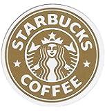 STARBUCKS スターバックス ロゴシール/ステッカー ゴールド
