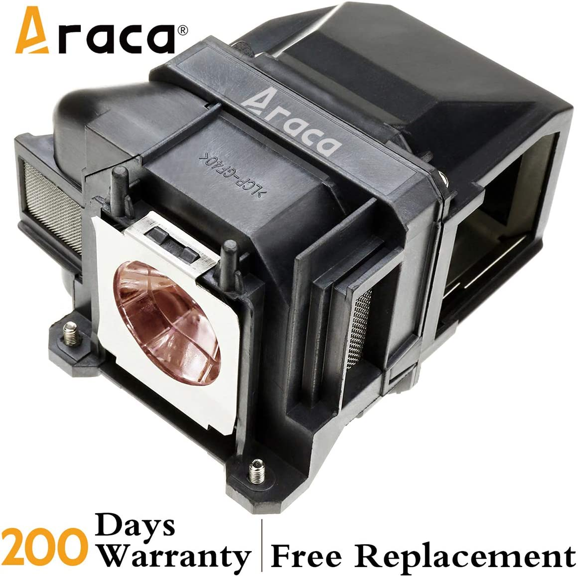 Araca ELPLP88 //V13H010L88 Replacement Projector Lamp with Housing for Epson EX7240 EX3240 EX9200 VS240 EB-X31 EX5240 TW5350 VS340 VS345 EB-U04 EX5250 H682 H683 //PowerLite 98H 2040 2045 740HD H719A