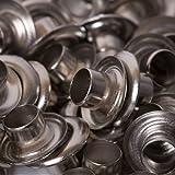 BIG-SAM - Ösen mit Scheiben - 4/5/8/11 oder 14mm in Silber (5mm)