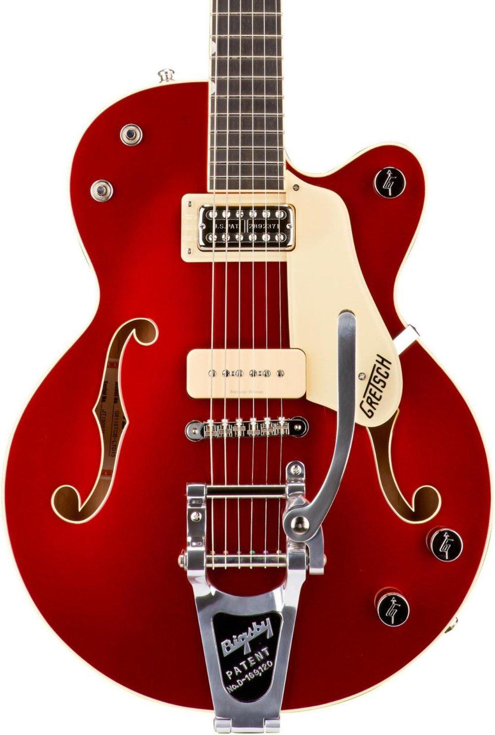 GRETSCH guitarra g6115t-ltd15 edición limitada rojo Betty centro ...