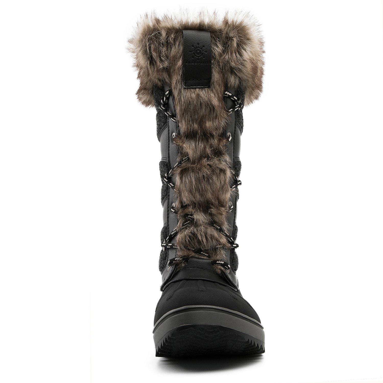 Global Win GLOBALWIN Women's 1730 Winter Snow US|1730black Boots B074XD62WV 9 B(M) US|1730black Snow ffddbf