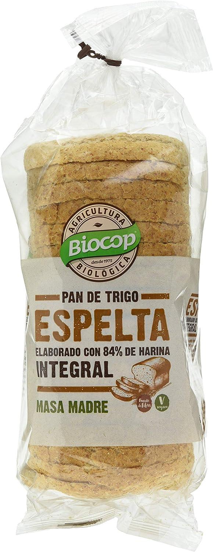 Biocop Pan Molde Espelta Integral Biocop 400 G Envase De 400 Gra 500 g: Amazon.es: Alimentación y bebidas