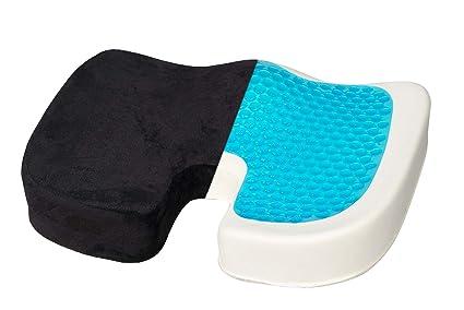 Cojín ortopédico para asiento de coxis - Cojín de gel de ...