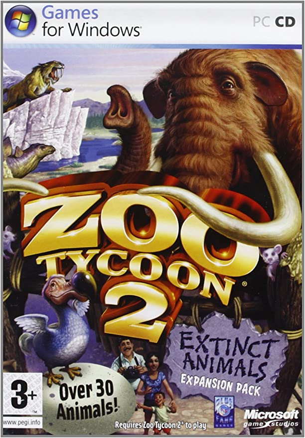 Zoo Tycoon 2: Extinct Animals Expansion Pack (PC) [Importación ...