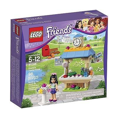 LEGO Friends 41098 Emma's Tourist Kiosk Building Kit: Toys & Games