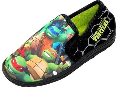 Ninja Turtles - Zapatillas de Estar por casa de Material ...