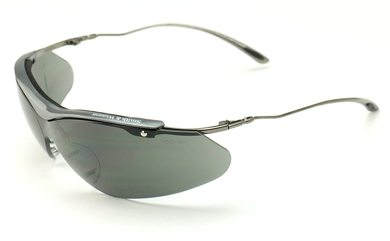 [Smith&Wesson]スミス&ウェッソン Sigma曇り止め加工 UVカットサングラス(ブラックスモークレンズ)   B000I4MRUE