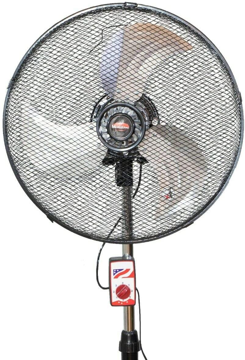 Maxell Power CE Ventilador DE PIE Industrial 18