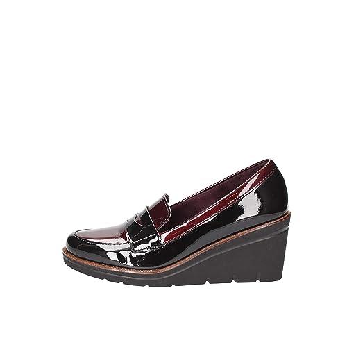 Pitillos 2810 Mocasines Mujer Bordeaux 39: Amazon.es: Zapatos y complementos