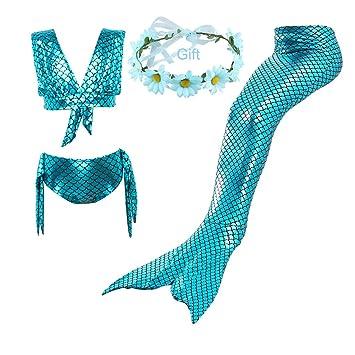 Amazon com: Mermaid Tails,Swimming Costume, Swimmable