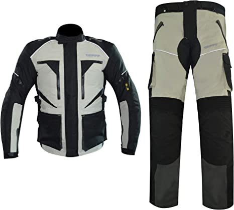 Amazon.com: GEPPE Templar Adventure - Traje de moto ...