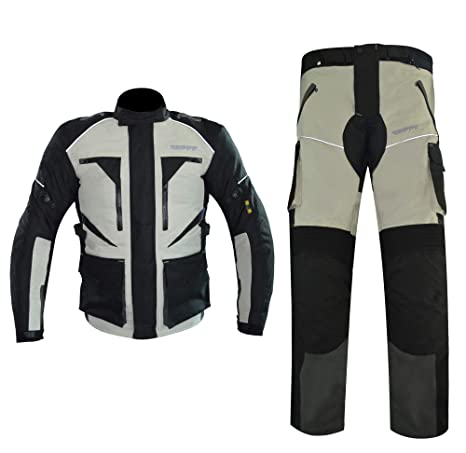 Amazon.com: GEPPE Templar Adventure - Traje de moto ...