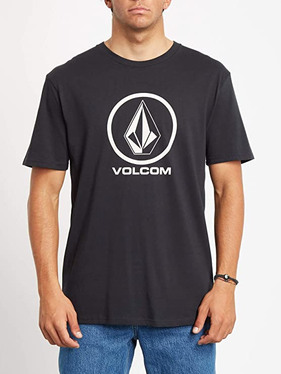 Volcom Crisp Stone BSC SS - Camiseta de Manga Corta Hombre: Amazon.es: Deportes y aire libre