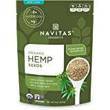 Navitas Organics Hemp Seeds, 8 oz. Bags (Pack of 2)