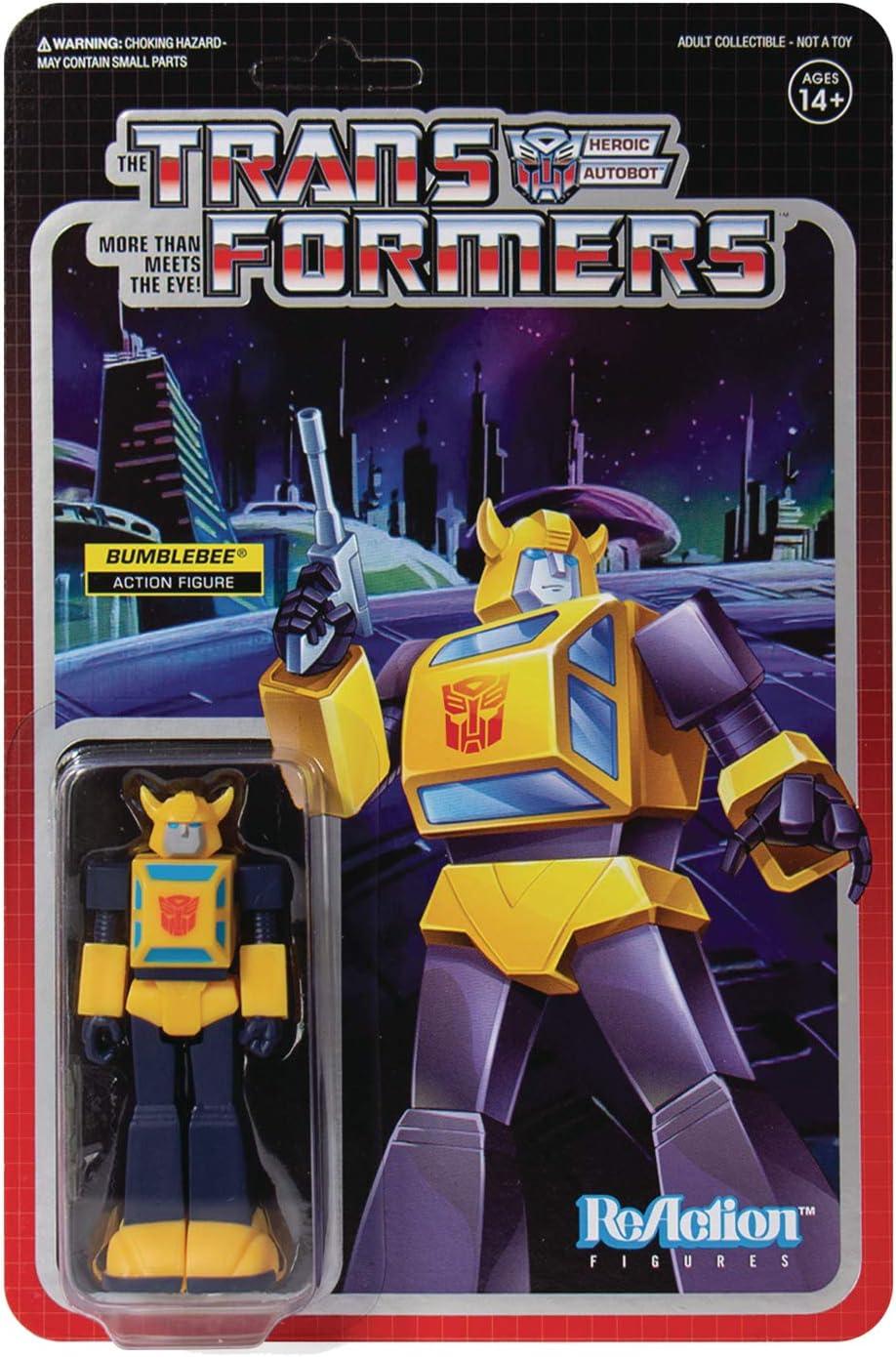 Super7 Transformers ReAction Action Figure Bumblebee