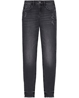 1c96e8d4 Zara Women's Z1975 Frayed Hem Skinny Jeans 8228/021: Amazon.co.uk ...