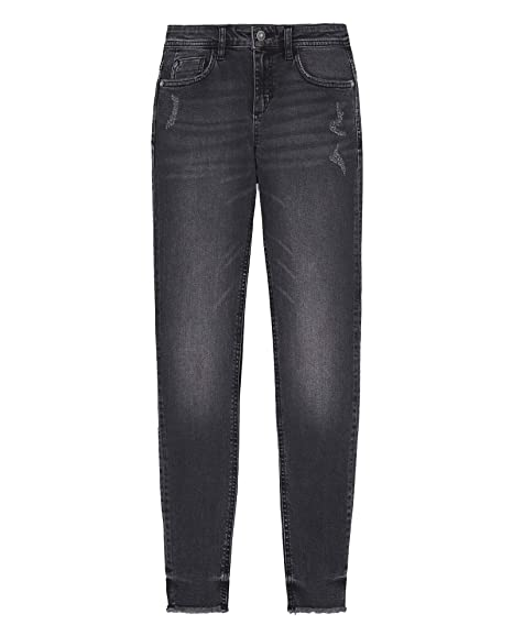 cc0115bb Zara Women's Z1975 Frayed Hem Skinny Jeans 7147/023: Amazon.co.uk ...