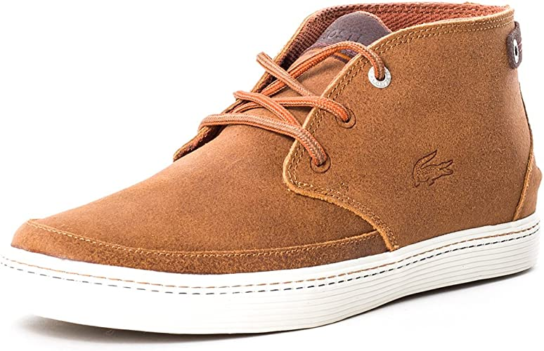 Lacoste Mens Brown Clavel 18 Chukka