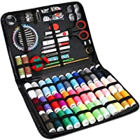ProCase Sewing Kit, (183 PCS) Sewing Supplies with 38 XL Thread Spools, Scissors, Needles, Pins, for Home, School…