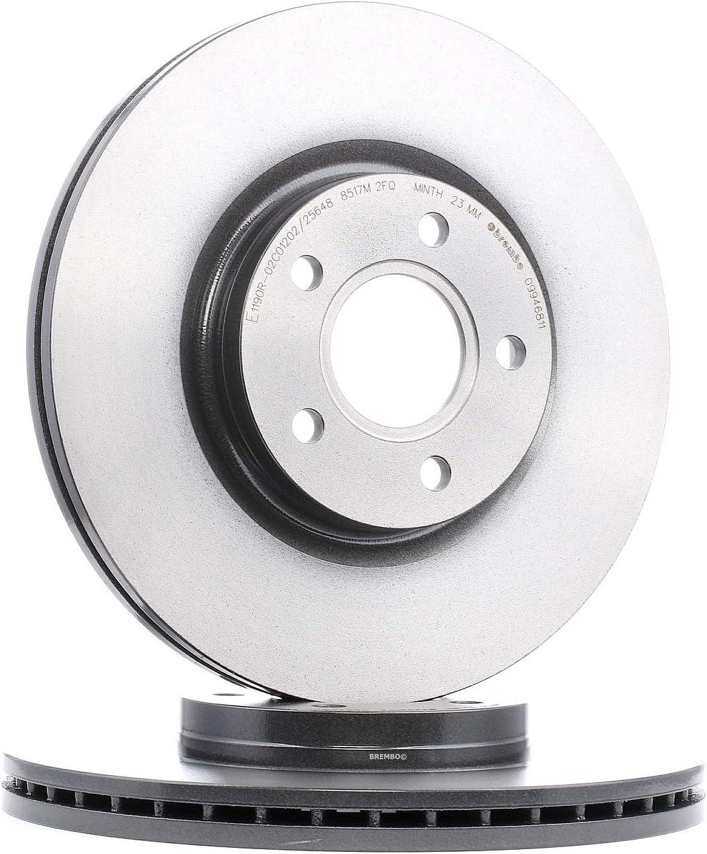 Brembo 09.A968.2X Rotori Disco Freno