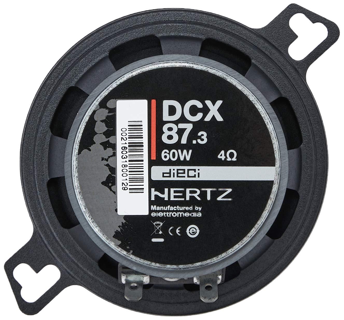 /à 2 voies Haut-parleurs de 60 watts 87mm HERTZ DCX87.3 8,7 pouces