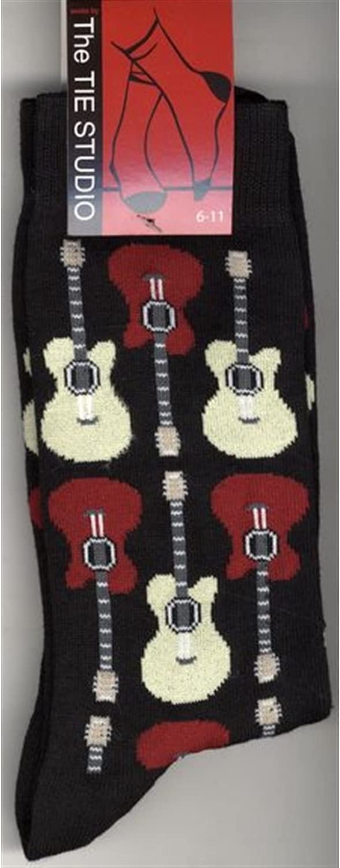 Acoustic Guitars Cottonrich Unisex Novelty Ankle Socks Adult Size 6-11