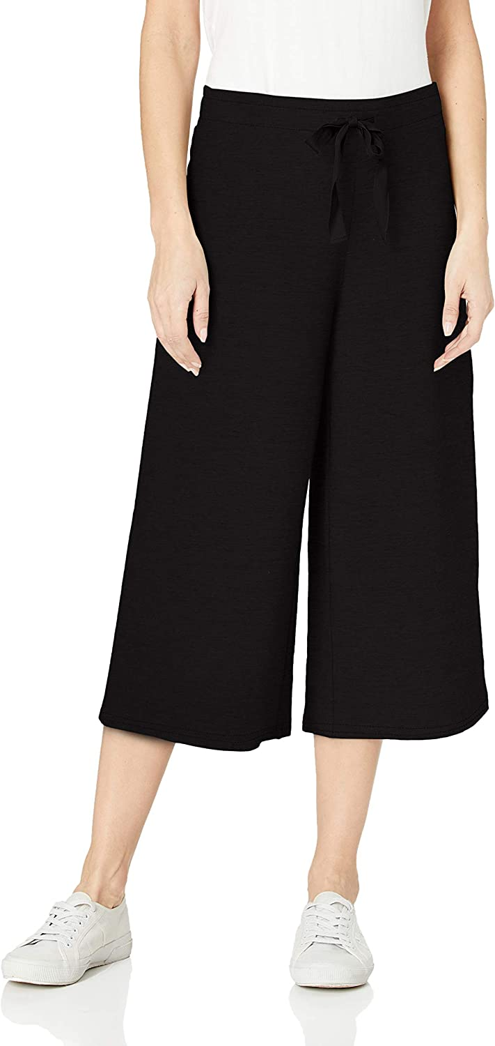 Amazon Brand - Daily Ritual Women's Terry Cotton and Modal Culotte Pant