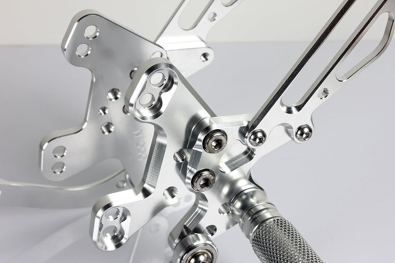 TARAZON CNC Rearsets Foot pegs Rear sets for Kawasaki Ninja ZX6R 2009-2014