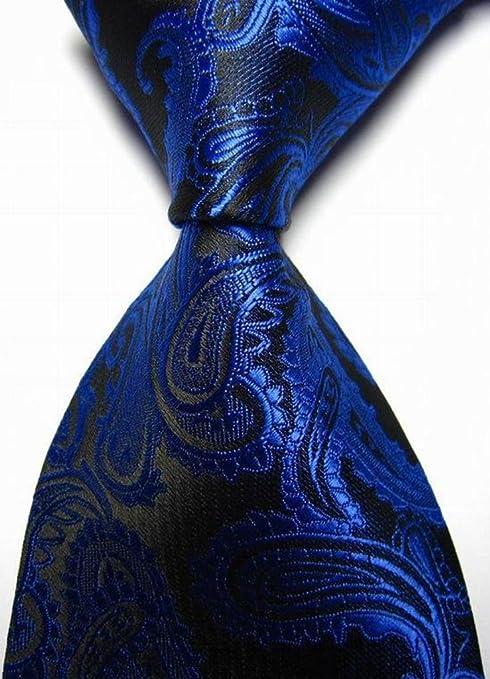 Coofit® - Corbata - Paisley - para hombre Luxus Royal Blue Paisley ...