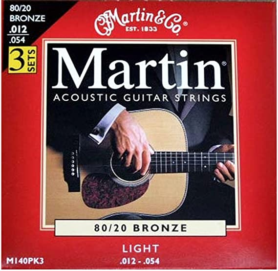 Martin M175 - Juego de cuerdas para guitarra acústica de bronce ...