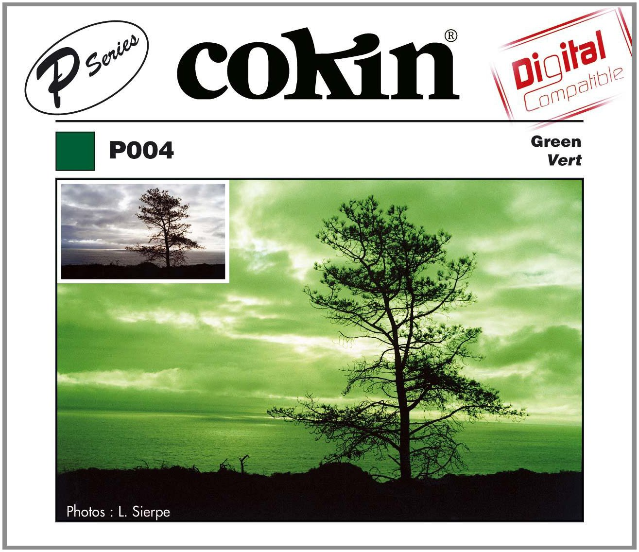 Cokin P004 Filter, P, Green by Cokin