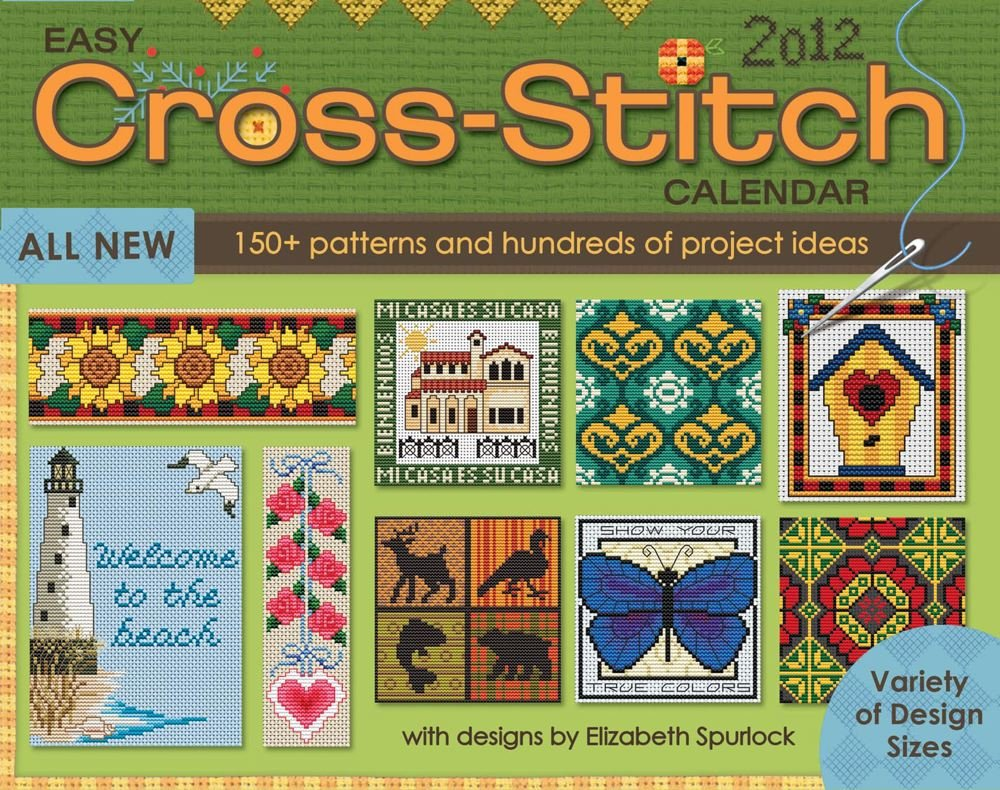 Easy Cross Stitch  2012 Day To Day Calendar