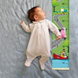 Sylfairy Baby Height Growth Chart Wall Ruler for