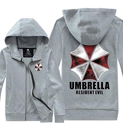 Resident Evil Umbrella Corporation chaqueta del traje gris paraguas XXL