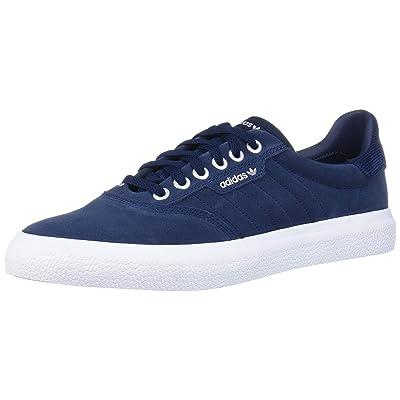 adidas Originals 3MC Sneaker, Collegiate Navy/White/Silver Metallic, 12 M US | Fashion Sneakers