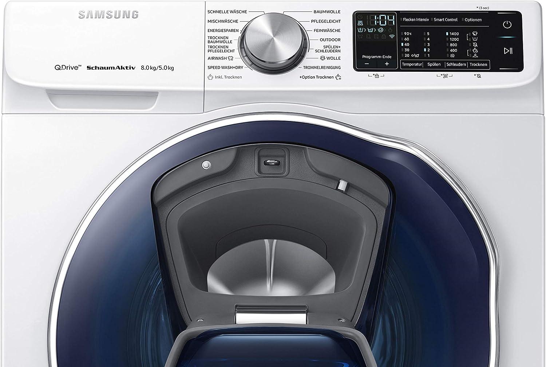 Samsung WD6800 Carga frontal Independiente Blanco A - Lavadora ...