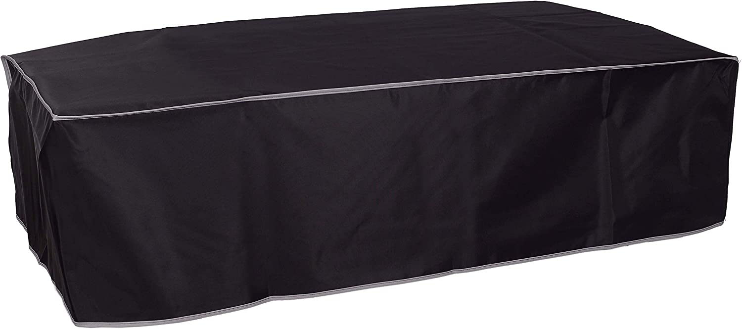 The Perfect Dust Cover, Black Nylon Cover for HP DesignJet T120 / T125 / T130 24''-in Wide Format Printer, Anti Static Waterproof, Dimensions 38.9''W x 20.9''D x 11.2''H by The Perfect Dust Cover LLC