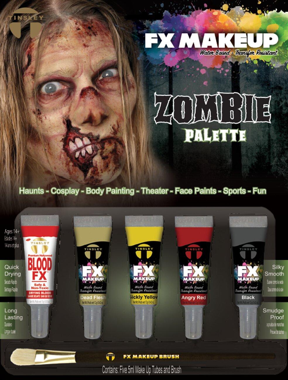 Tinsley Transfers FX Makeup Set - Zombie TT-CSFX802