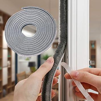Door Window Foam Sticky Tape Seal-Strip Noise Insulation Protective Windproof