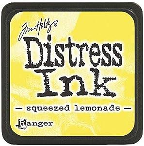 Ranger DMINI-40200 Tim Holtz Distress Ink Pads, Mini, Squeezed Lemonade