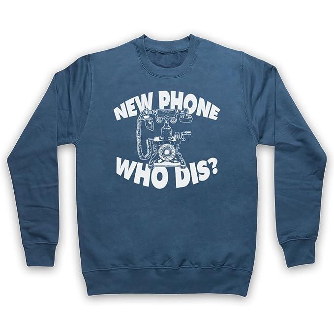Funny Slogan Vintage Phone Adultos Sudadera: Amazon.es: Ropa y accesorios