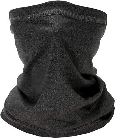5 Pack Neck Gaiter Balaclava Bandana Headwear Face Cover Mask Headband for Women Men
