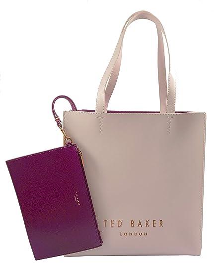 fae4fa9f35d5a Ted Baker Elissa Statement Letters Shopper Dusky Pink  Amazon.co.uk ...