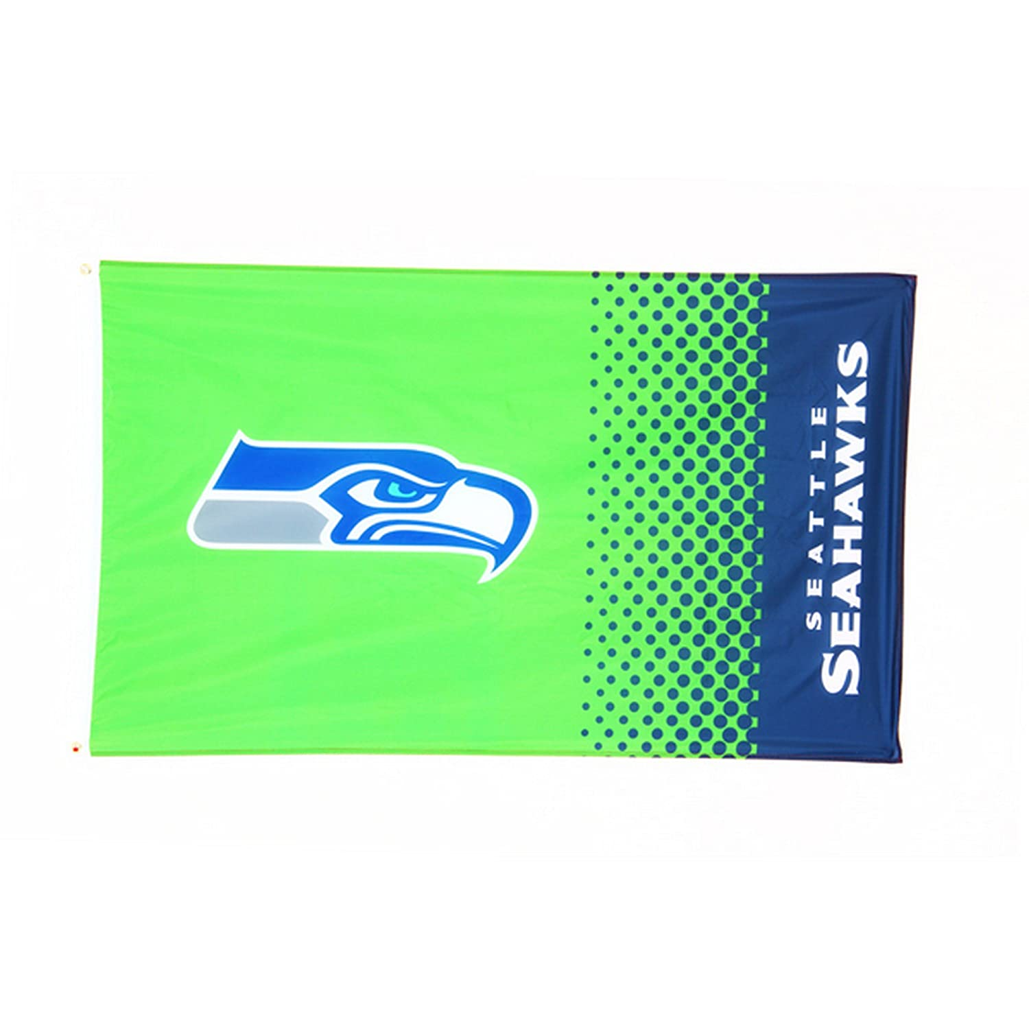 Offizielle NFL Seattle Seahawks Fahne in 150 cm x 90 cm FOREVER COLLECTIBLES