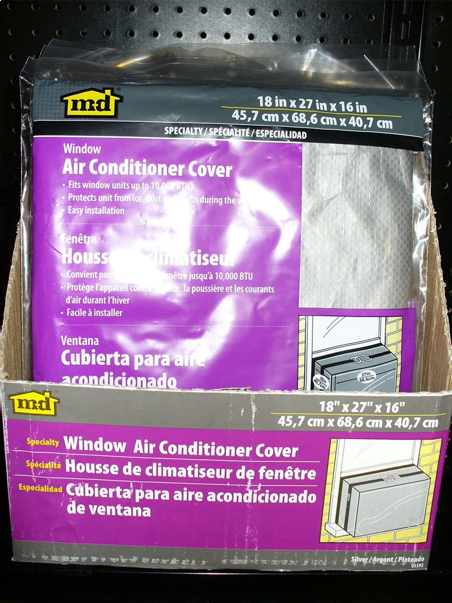 W X 42 in L X 1-1//4 in T M-D Building Products 2006 M-D 0 Open-Cell Air Conditioner Weather-Strip Gray New